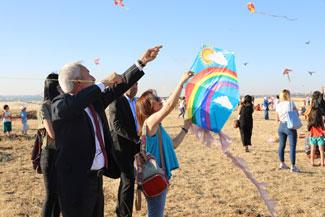 Diyarbakır'da uçurtma şenliği düzenlendi