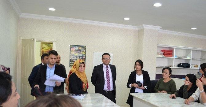Müdür Kızılkaya'dan aile destek merkezine ziyaret