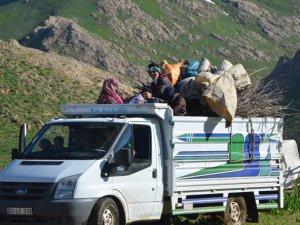 Hakkari'de yayla göçü başladı VİDEO - FOTO GALERİ