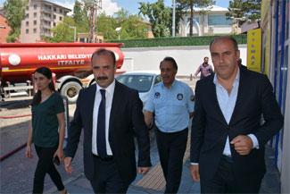 Eş Başkan Karaman çalışmaları denetledi