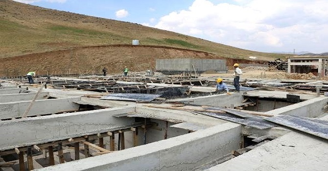 Yüksekova'da bölgenin en büyük arıtma tesisi kuruluyor