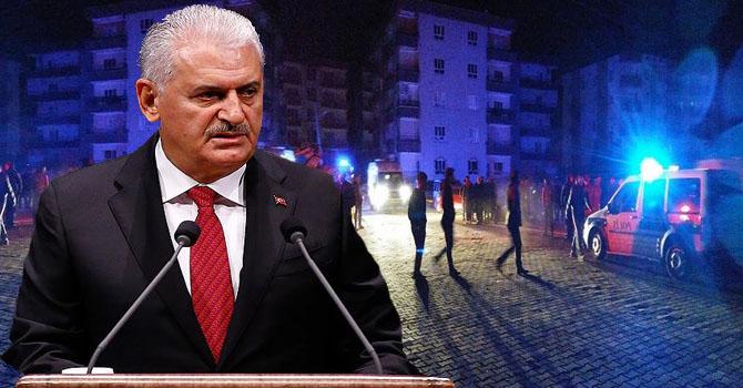 Başbakan Binali Yıldırım'dan patlamaya ilişkin açıklama
