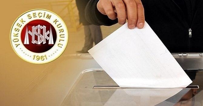 Cumhurbaşkanı adaylarının sıralaması belli oldu!