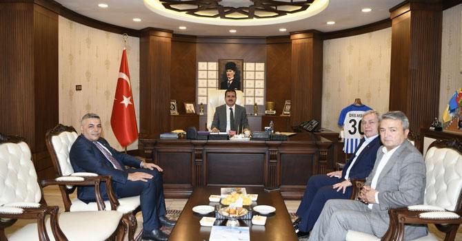 TOBB Daire Başkanı Erbay'dan Vali Akbıyık'a ziyaret!