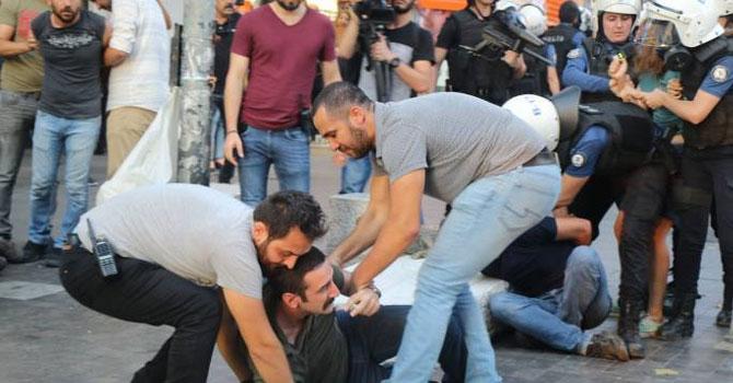 Suruç anmasına polis müdahalesi; milletvekilleri yaralandı