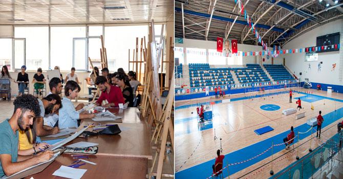 Hakkari Üniversitesi Özel Yetenek Sınavlarına yoğun ilgi