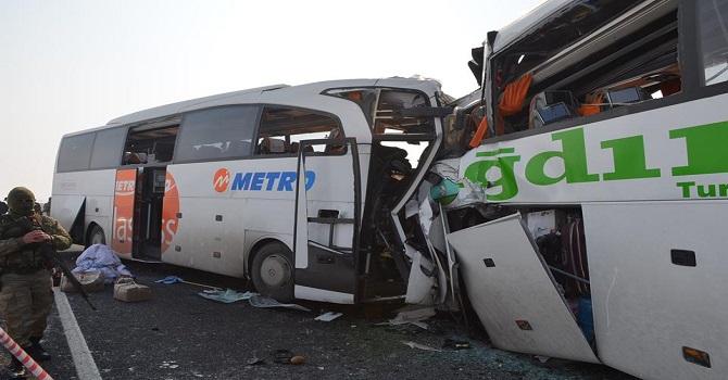 Iğdır'da Feci kaza: 7 ölü, 16 yaralı
