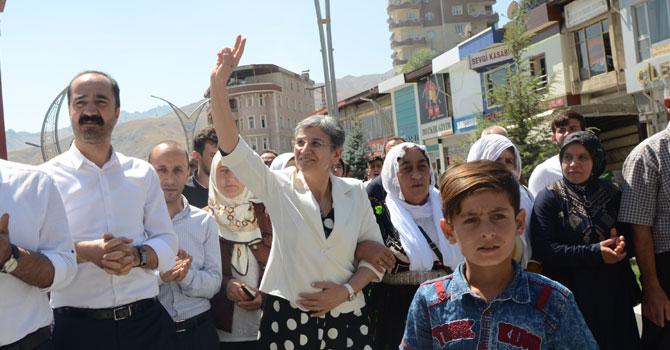 HDP Milletvekili Güven 15 ay sonra Hakkari'de