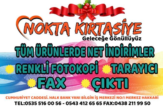NOKTA KIRTASİYE'DE ŞOK İNDİRİM!