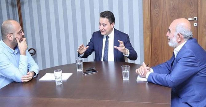 """Ali Babacan Karar gazetesine konuştu: """"Yıl bitmeden partiyi kuruyoruz"""""""