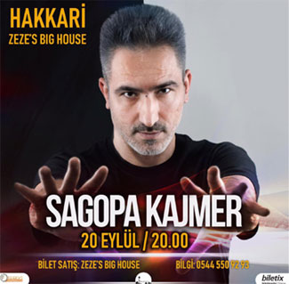 """Sagopa Kajmer"" konseri ZeZe Big House'de"