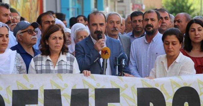 Hakkari Belediye Eş başkanı Kahraman, Diyarbakırda konuştu
