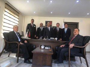 Kurum Müdürlerinden Başkan Demirci'ye ziyaret