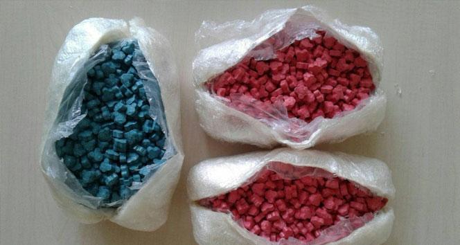 Hakkari'de 2 bin 758 adet extacy uyuşturucu hap ele geçirildi