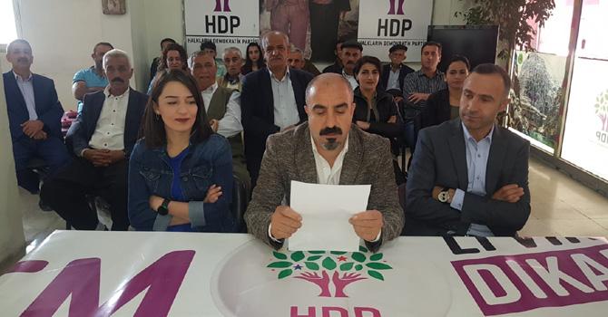 HDP Hakkari İl örgütünden açıklama!