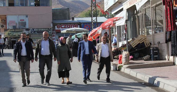 Başkale'de Butik Sokak çalışmaları başladı