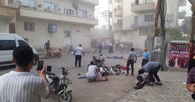 Mardin Nusaybin'de patlama: 5 ölü