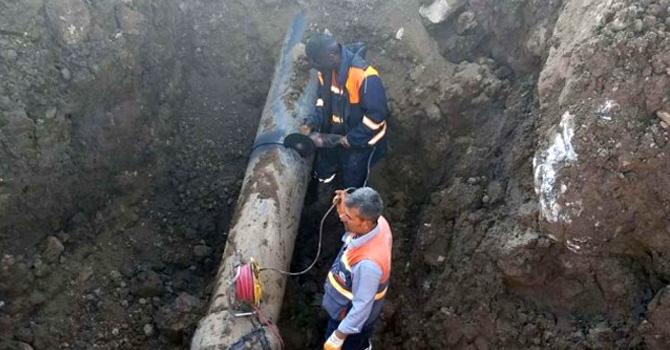 Hakkari'deki 3 mahallenin içme suyu hattı arızalandı