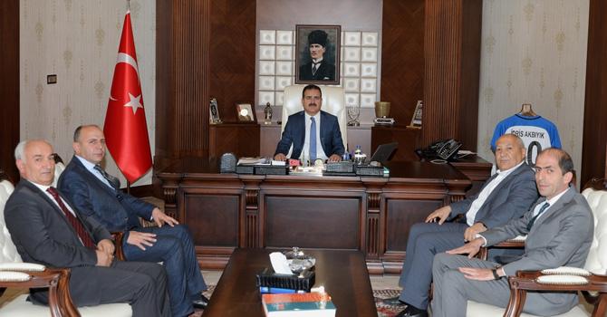CHP İl Başkanı Demir'den Vali Akbıyık'a ziyaret
