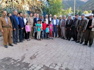 Kaymakam Güven'den okul ziyareti