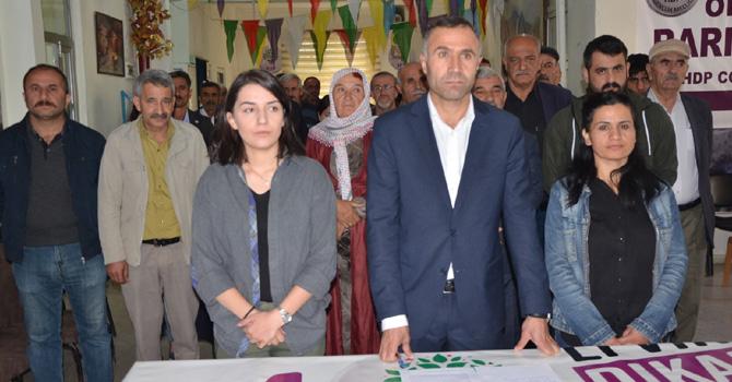 Hakkari HDP'den gözaltı açıklaması