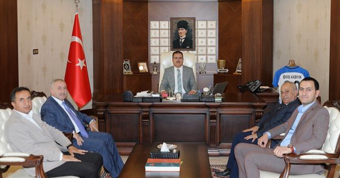YÜTSO Başkanı Pınar'dan Vali Akbıyık'a ziyaret!