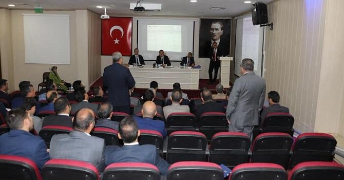 Hakkari'de 4. Dönem il koordinasyon kurulu toplantısı yapıldı
