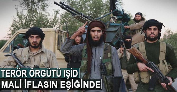 'IŞİD mali iflasın eşiğinde'