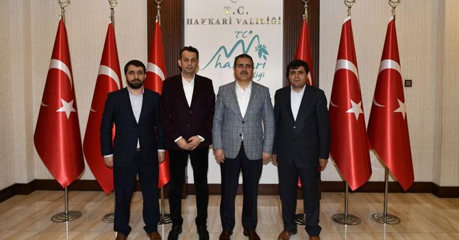 İlim Yayma Cemiyeti'nden Vali Akbıyık'a ziyaret