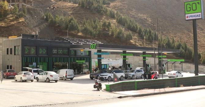 Hakkari'de GO İpragaz Ölmez Petrol Hizmete Açıldı