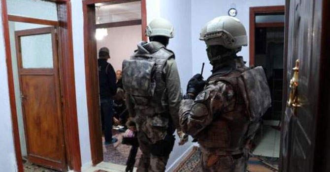 Gaziantep'te HDP'ye operasyon: 51 gözaltı