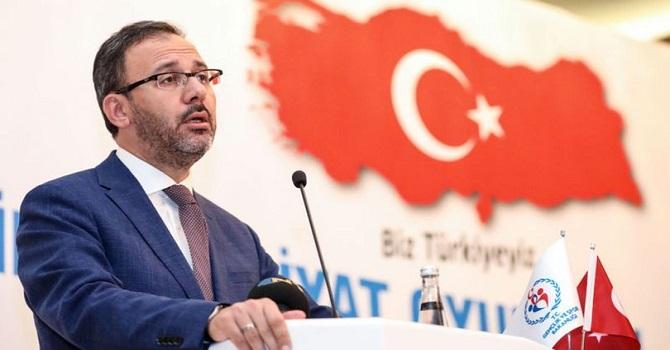Gençlik ve Spor Bakanı Kasapoğlu: Hakkari ve Batman'a 56 milyon yatırım yaptık