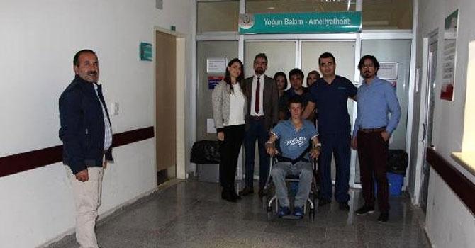 Şemdinli'de ilk kez yapılan ameliyatla hayata tutundu