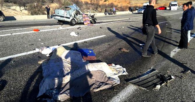 Adıyaman feci kaza: 4 ölü