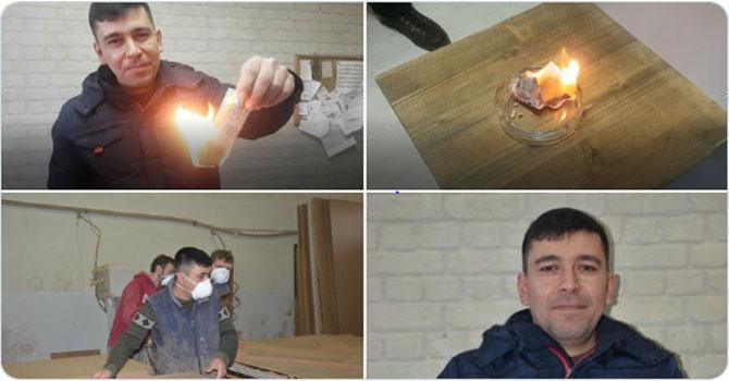 Asgari ücretli işçi, 20 bin lira isabet eden Milli Piyango biletini yaktı