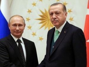 Erdoğan ve Putin Libya'daki durumu görüştü
