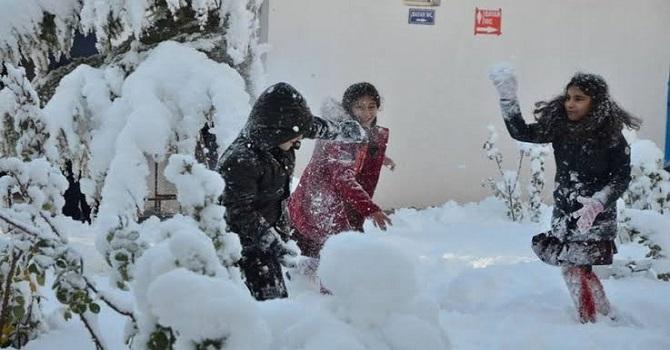 Hakkari ve Van'da Eğitime kar engeli