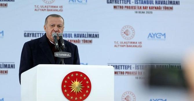 Cumhurbaşkanı Erdoğan: İstanbul yerel yönetime bırakılamayacak kadar önemli