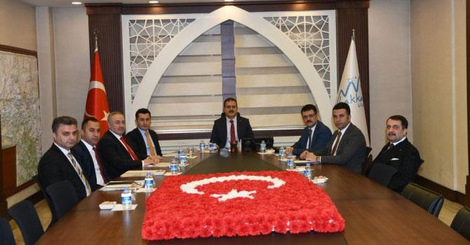 Hakkari'de Organize Sanayi Bölgesi toplantısı
