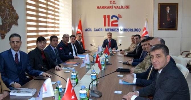 Hakkari'de 'İl koordinasyon Komisyonu' toplantısı