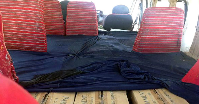 156 Bin 960 Paket Kaçak Sigara Ele Geçirildi