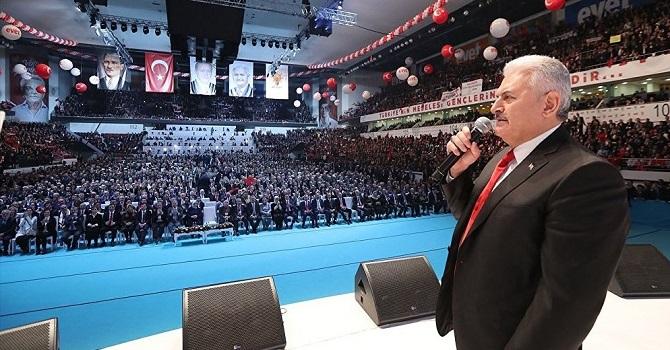 AK Parti'nin referandum kampanyası başladı