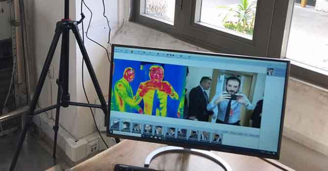 TBMM'de, termal kameralı koronavirüs önlemi