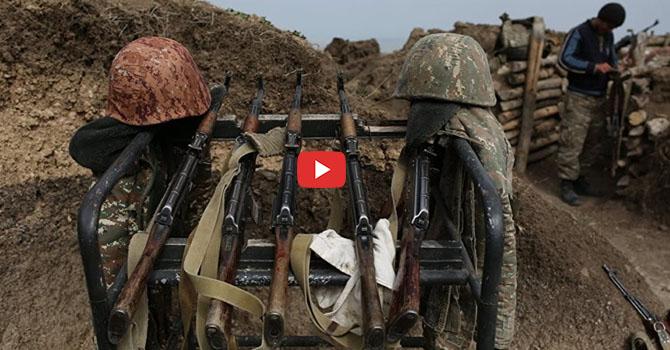 Azerbaycan, Ermenistan karargahlarını vurdu