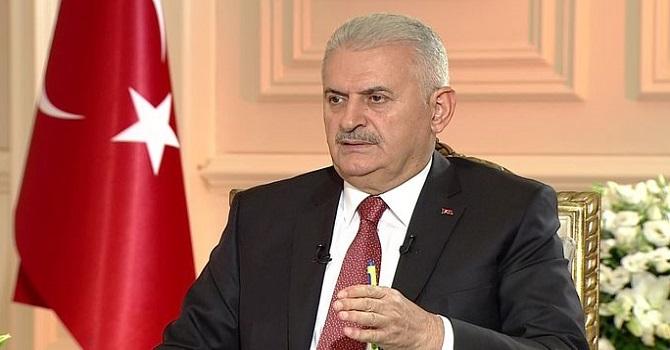 """Yıldırım: Ya Türkiye ile ya da terör örgütleriyle yollarına devam edecekler"""""""