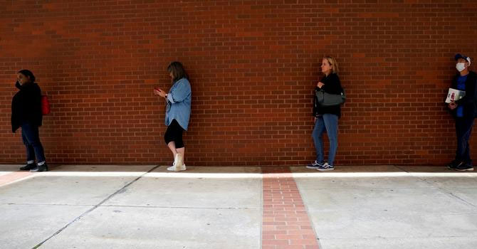 ABD'de salgında 39 milyon kişi işsiz kaldı