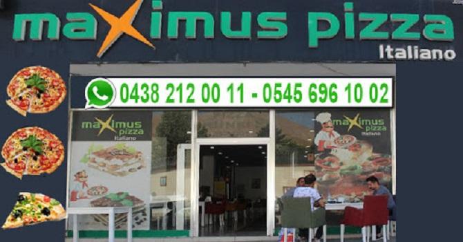 Maximus-Pizza 4 günlük kısıtlama gününde de açık!
