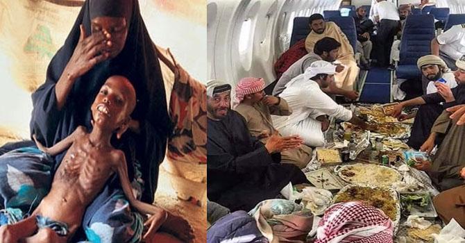 2 günde 110 kişi açlıktan öldü