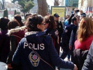 Polis müdahalesi: 21 kişi gözaltına alındı