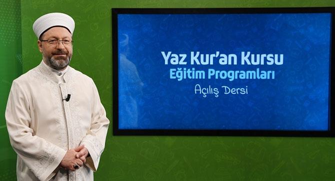 2020 yaz Kur'an kursları uzaktan eğitimle yapılacak